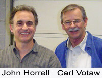 John Horrell and Carl Votaw of Votaw Tool Company